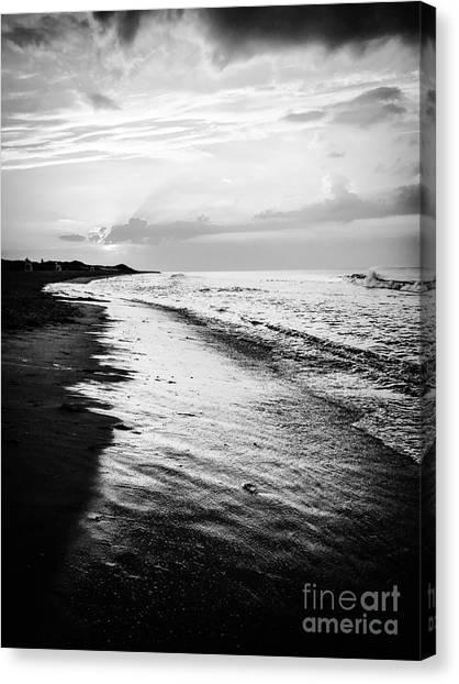 Cape Cod Beach Sunset Canvas Print by JMerrickMedia