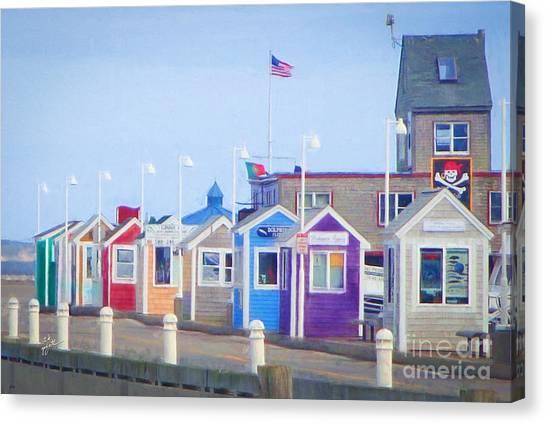 Cape Cod Cabins Canvas Print