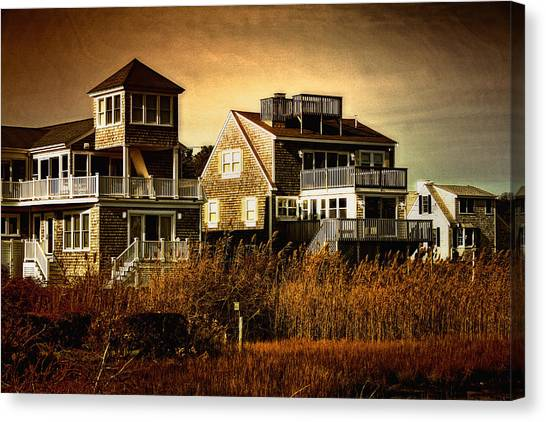 Cape Cod Gold Canvas Print by Gina Cormier