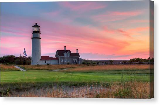 Cape Cod Highland Links Canvas Print