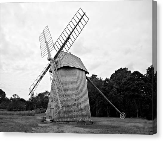 Cape Cod - Old Higgins Farm Windmill Canvas Print