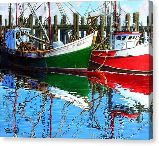 Cape Cod Paintings  Canvas Print