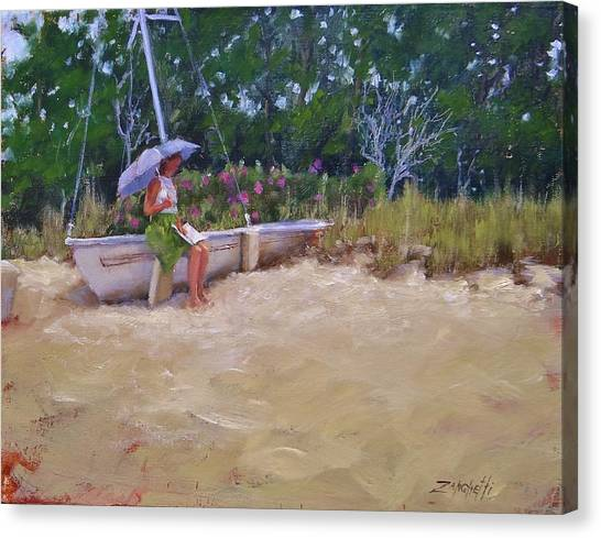 Chatham Canvas Print - Cape Cod Weekend by Laura Lee Zanghetti
