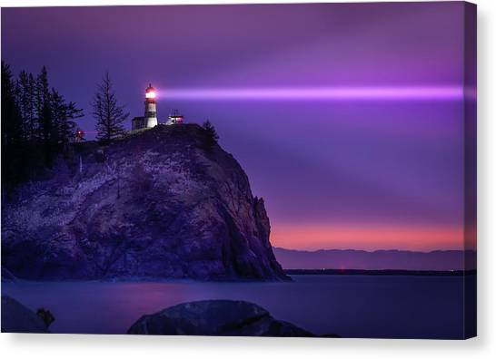 Cape Disappointment Light Canvas Print