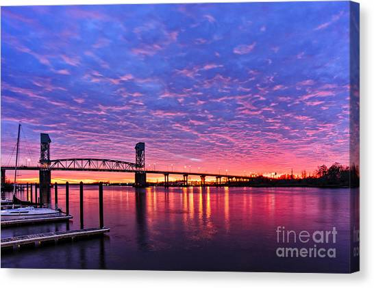 Cape Fear Bridge1 Canvas Print