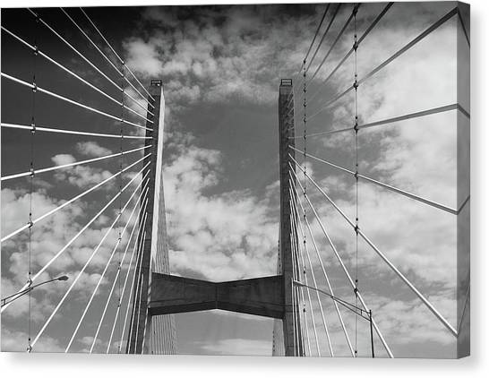 Cape Girardeau Bridge Canvas Print