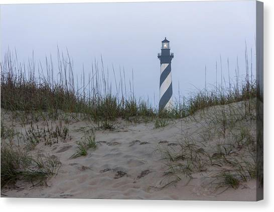 Cape Hatteras Over The Dunes Canvas Print
