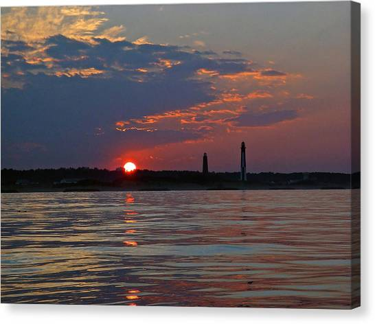 Cape Henry Sunset Canvas Print