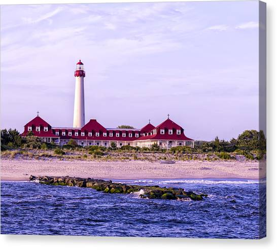Cape May Light House Canvas Print