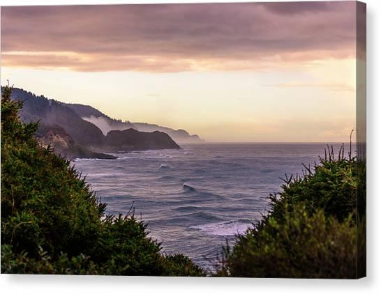 Cape Perpetua, Oregon Coast Canvas Print