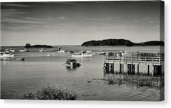 Cape Porpoise Harbor Canvas Print