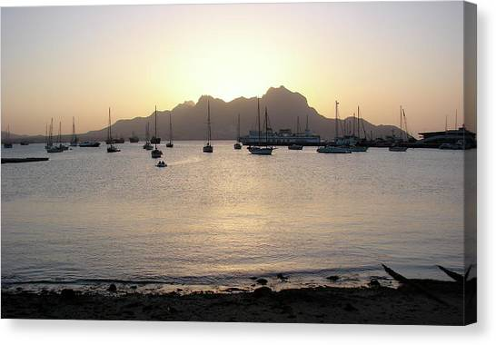 Cape Verde Sunset Canvas Print