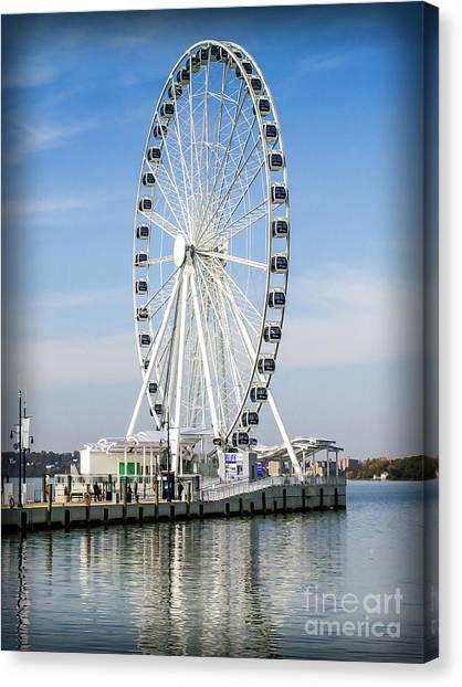 Capital Ferris Wheel Canvas Print