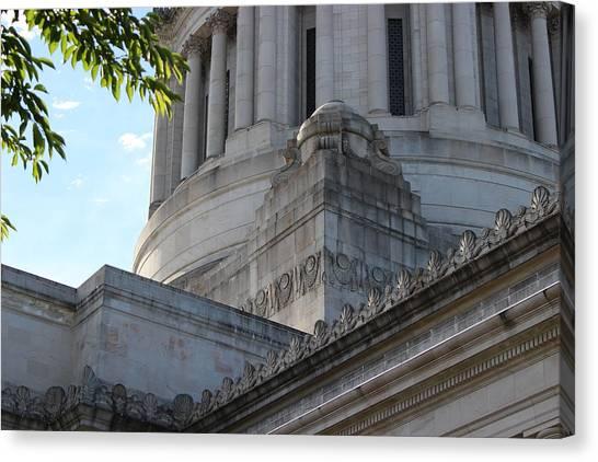 Washington Capitals Canvas Print - Capital Hill, Olympia Wshington by Zachary Lowery