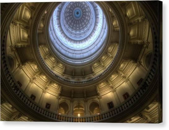 Capitol Dome Interior Canvas Print
