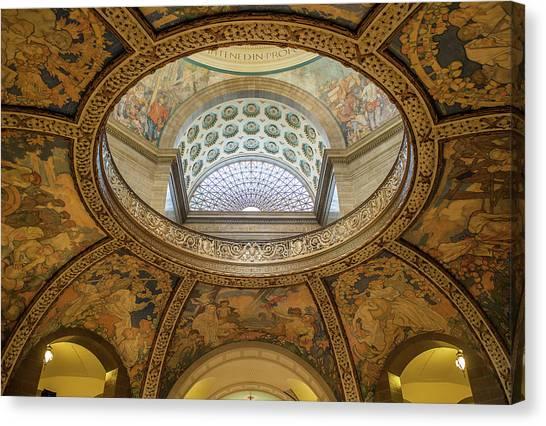 Capitol Dome No. 37 Canvas Print