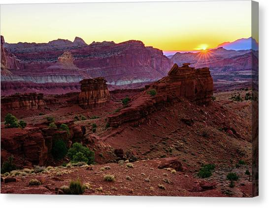 Capitol Reef Sunrise Canvas Print