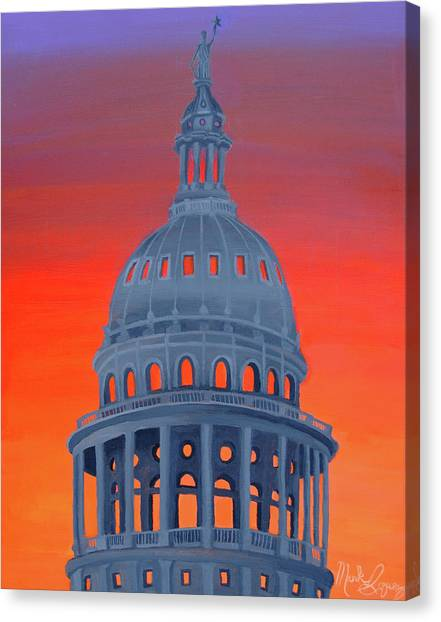 Capitol Warmth Canvas Print
