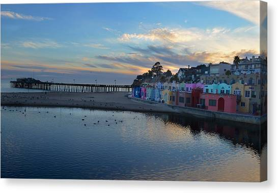 Capitola In October Canvas Print