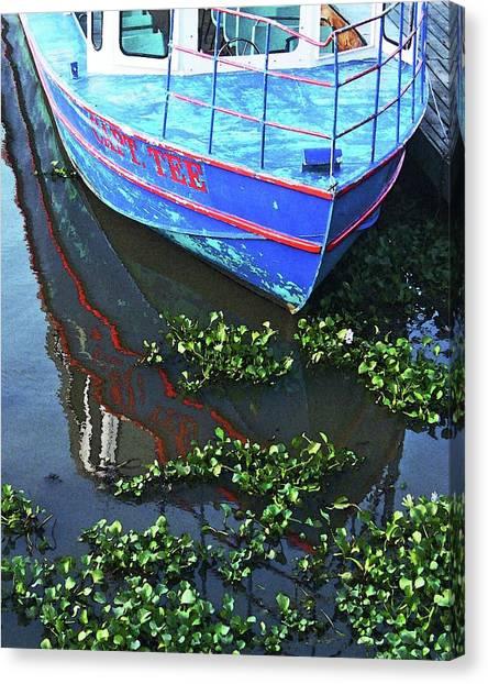 Cap'n Tee Henderson Swamp Canvas Print