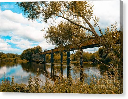Cappaquin Railway Bridge Canvas Print