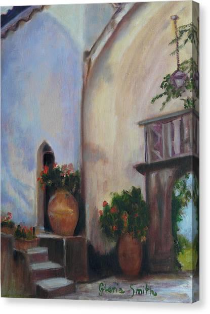 Capri Italy Canvas Print