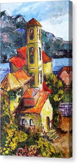 Capri Canvas Print by Olga Kaczmar