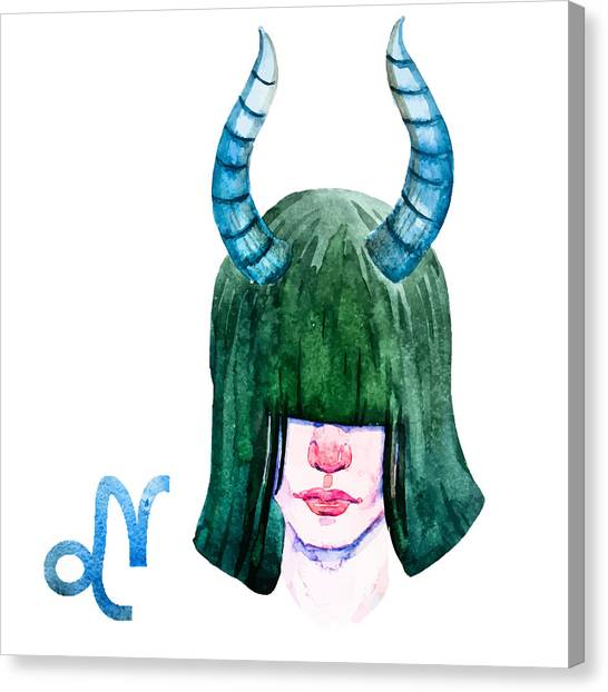 Capricorn Canvas Print