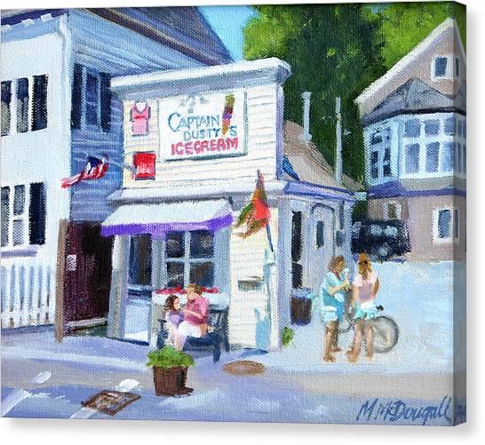 Capt. Dusty's Ice Cream Canvas Print