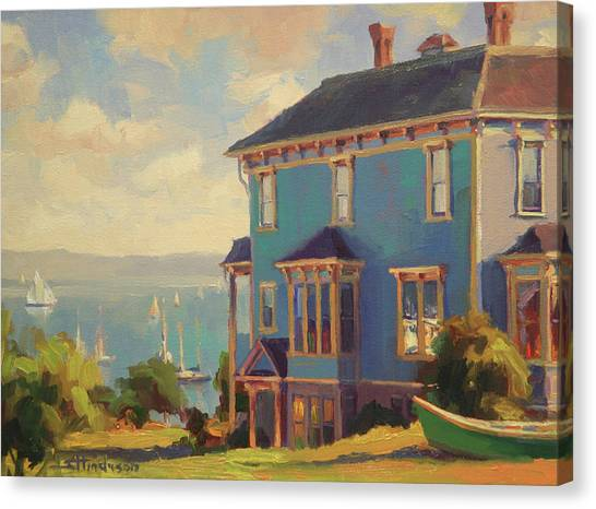 Bush Canvas Print - Captain's House by Steve Henderson