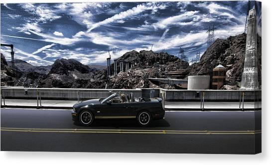 Jibbing Canvas Print - Car by Marco Moscadelli