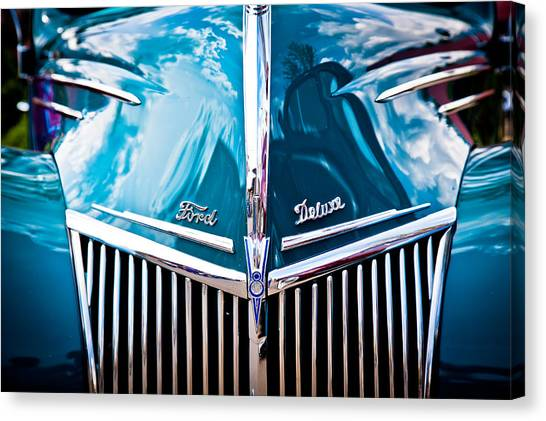 Car No.8 Canvas Print