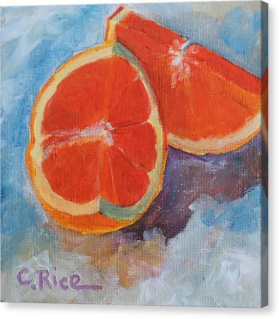 Cara Cara Orange Canvas Print