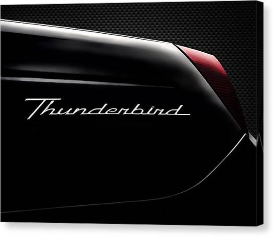 Ford Canvas Print - Carbon Black Thunder by Douglas Pittman