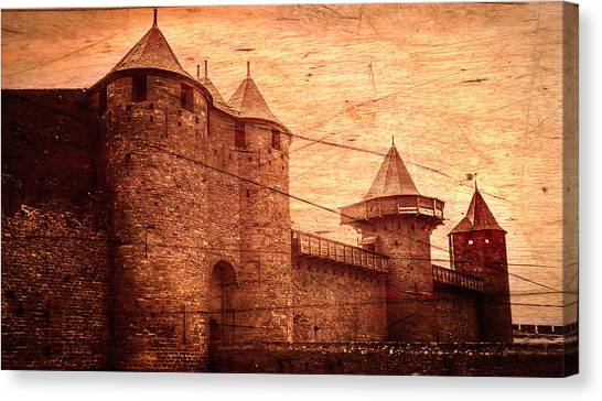 Canvas Print - Carcassonne by Contemporary Art