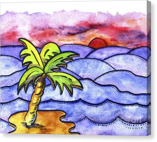 Rolling Seas Canvas Print