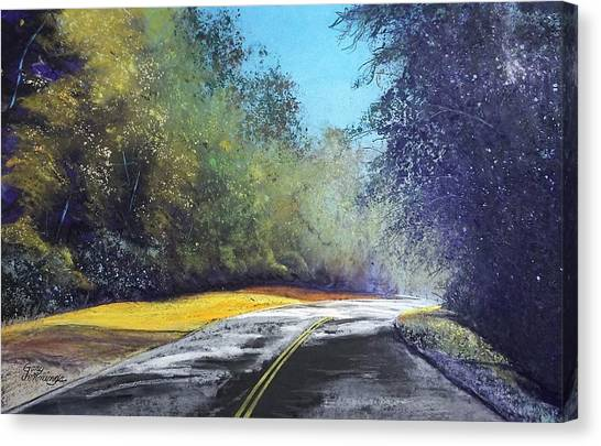 Carefree Highway Canvas Print