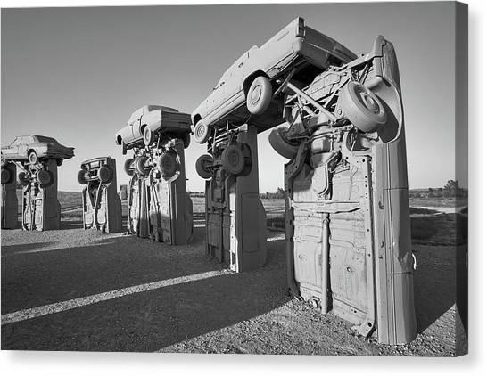 Nebraska Canvas Print - Carhenge 2 by Jim Hughes