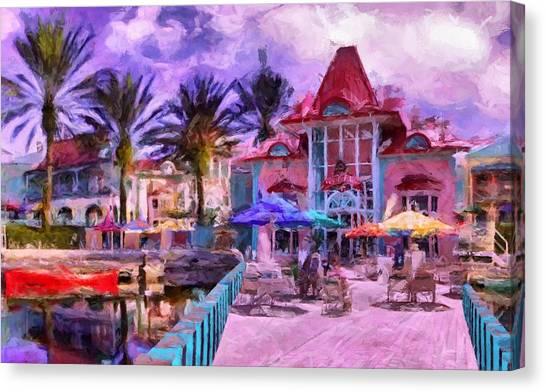 Caribbean Beach Resort Canvas Print
