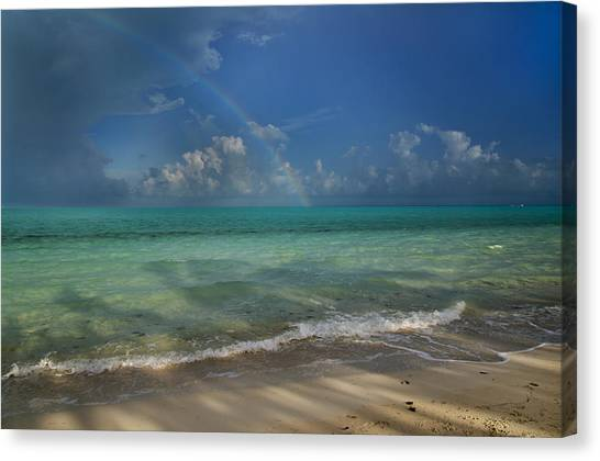 Carribbean Canvas Print - Caribbean Breeze by Betsy Knapp
