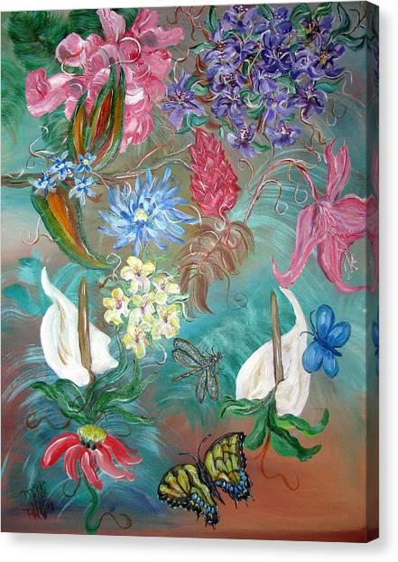 Caribbean Delight Canvas Print by Mikki Alhart