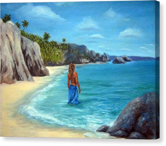 Canvas Print - Caribean Dreaming by Anne Kushnick
