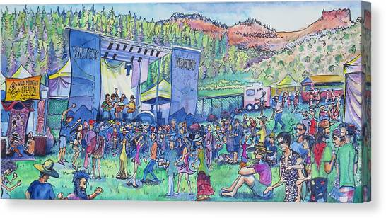 Caribou Mountain Collective At Yarmonygrass Canvas Print