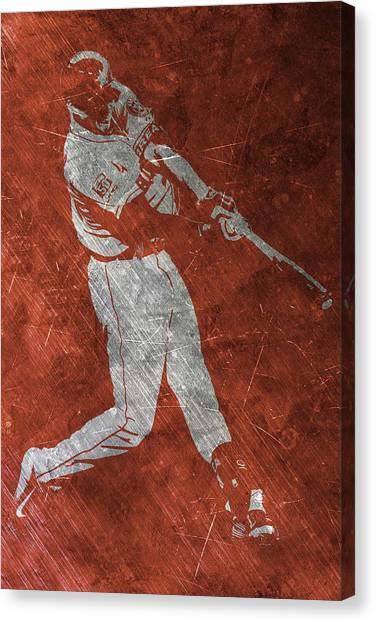 Houston Astros Canvas Print - Carlos Correa Houston Astros Art by Joe Hamilton