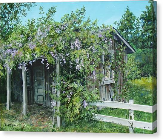 Carl's Shed Canvas Print