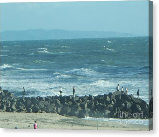 Carlsbad Canvas Print by Sacred  Muse