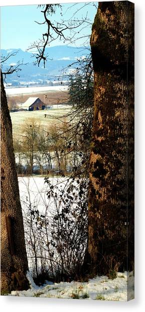 Carlton Barn Canvas Print