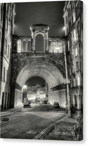 Trainspotting Canvas Print - Carlton Road Tunnel And Waterloo Place. by Phill Thornton