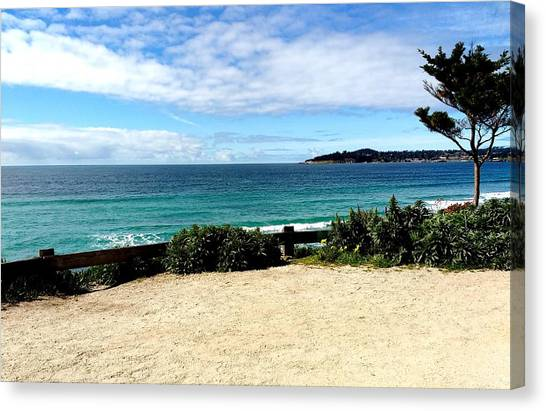 Carmel By The Sea Canvas Print