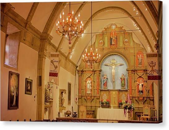 Carmel Mission, Mission San Carlos Borromeo Canvas Print